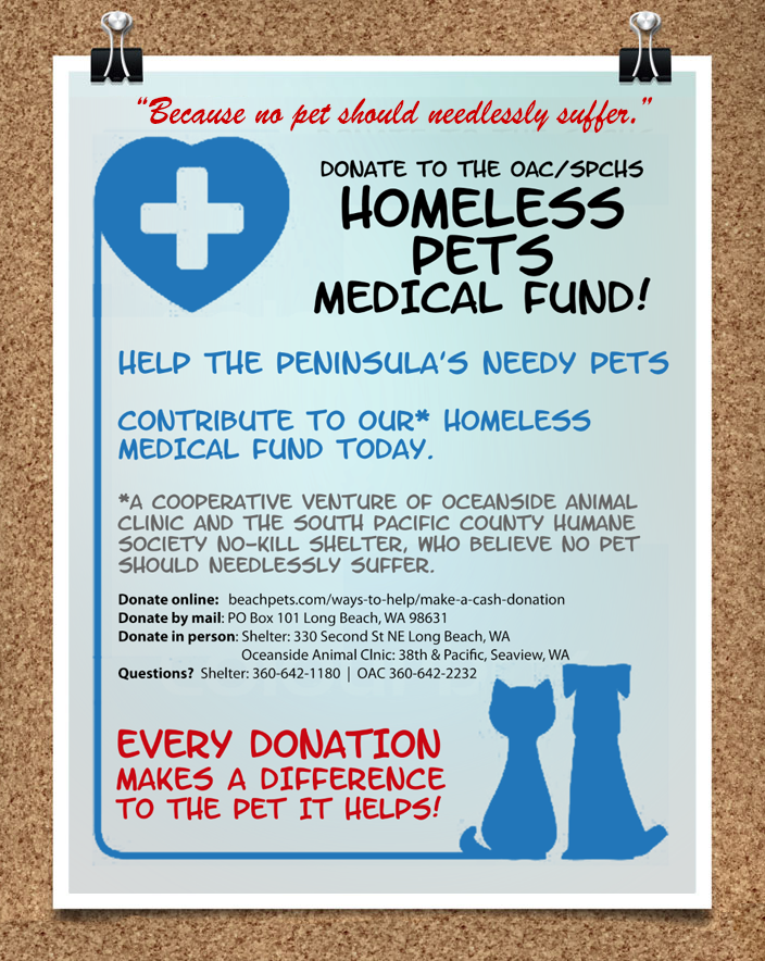 Homeless Pets Medical Fund