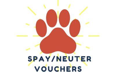 Spay/Neuter Vouchers