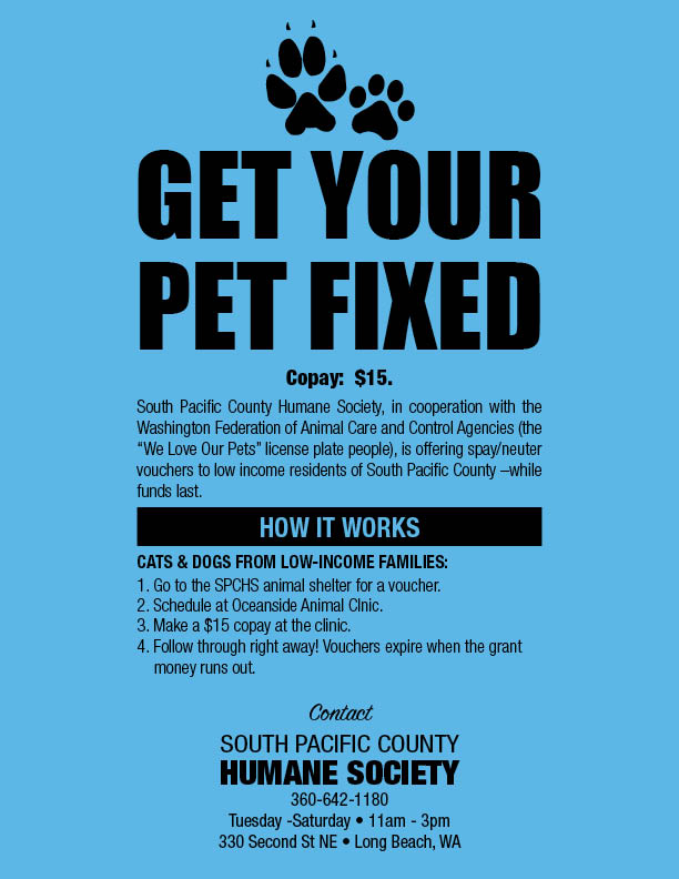 get your pet fixed flyer