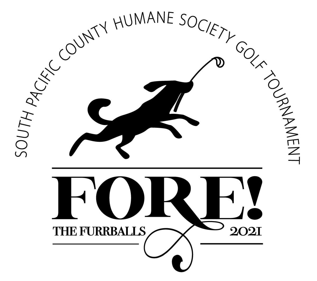 Fore! The Furrballs Golf Tournament